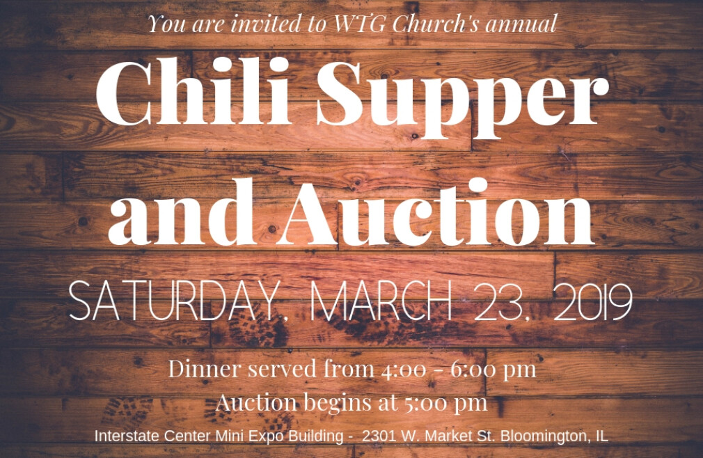 Chili Supper and Auction